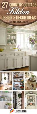 Kitchen Decor And Design On 27 Best Country Cottage Style Kitchen Decor Ideas And