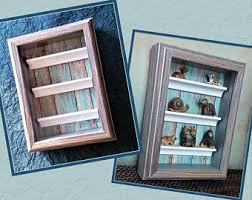 Collection Display Frame Case Kids Storage Personal Curio