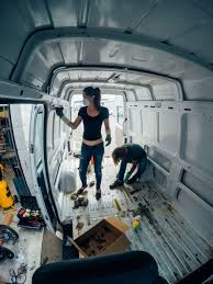 100 Vans Homes Guest Post Converting A Sprinter Van Into A Tiny Home Tiny House