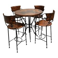 Arhaus 38″ Round Bar Table & Set Of Four Barstools   Design ... Arhaus Italian Mosaic Ding Table Lthr Chairs Apartment For Sale Arhaus Ding Chairs 28 Images Tuscany Side Chair Board And Batten Bedroom Makeover With Giveaway Room Banquette Fniture The Home Designs Contemporary Set Final Offer Kensington Spaces That Fit Your Personal Style City Farmhouse Of 4 Alice Slipcovered Crabtree Valley Mall Luciano From Kitchen Accents