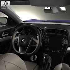 Nissan Maxima with HQ interior 2016 3D model