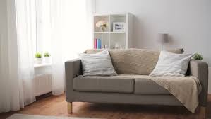 fort Furniture And Interior Concept Sofa With Cushions At