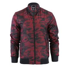 mens jacket brave soul regal camo military ma1 lightweight