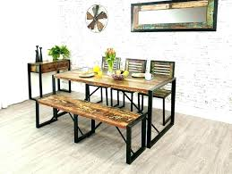 Small Dining Set With Bench Table And Seat
