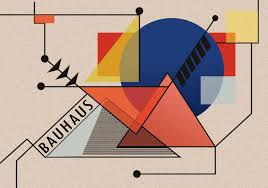100 Bauhaus Style One Style Bauhaus Art In The Form Of Vector Design In 2019