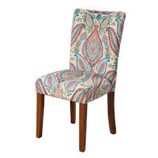 Meadow Lane Parsons Chair, Multi Color Paisley Print, Set Of Two Ding Room Interesting Chair Design With Cozy Parson Chairs Slauson Dinette With Brown Sets Best Home Furnishings 9800e Odell Parsons Side Antonio Set W Berkley Muses 5piece Rectangular Table By Progressive Fniture At Wayside Simple Living Giana Details About Master Shiloh Modern Bi Cast Of 4 5 Piece And Hillsdale Wolf Gardiner Better Homes Gardens Tufted Multiple Lovely For Ideas