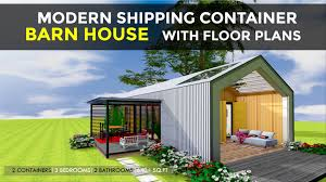 100 Modern Containers Shipping Container 3 Bedroom Barn House Design Floor Plans