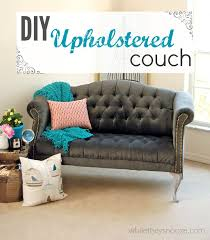 Tufted Sofa And Loveseat by While They Snooze How To Reupholster A Tufted Couch