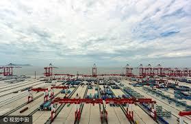 plus grand port automatisé au monde bientôt prêt à shanghai