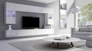 hubertus home24 wohnwand cal01 300cm hochglanz led