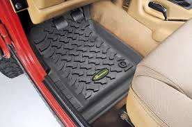Lund Catch It All Floor Mats by Quadratec 14254 0201 Ultimate All Weather Front Floor Liners For