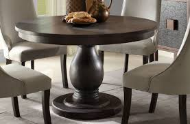 Ortanique Dining Room Furniture by Dandelion Traditional Distressed Dark Brownish Grey Wood Dining
