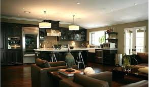 Kitchen And Living Room Design Download By Small Dining