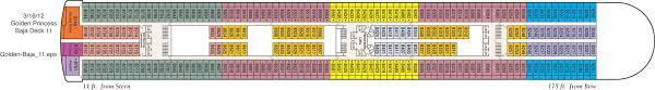Star Princess Baja Deck Plan by Cruise Southampton