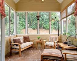 Sunroom The Decor Ideas Amazing Outdoor Favored Rustic Furniture Favorite White Flooring For Sun Room Stylish Adding A