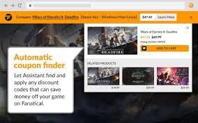 Fanatical Assistant Browser Extension Helps Track Down Steam ... Nhl Com Promo Codes Canada Pbteen Code November Steam Promotional 2018 Coupons Answers To Your Questions Nowcdkey Help With Missing Game Codes Errors And How To Redeem Shadow Warrior Coupons Wss Vistaprint Coupon Code Xiaomi Lofans Iron 220v 2000w 340ml 5939 Price Ems Coupon Bpm Latino What Is The Honey Extension How Do I Get It Steam Summer Camp Two Bit Circus Foundation Bonus Drakensang Online Wiki Fandom Powered By Wikia