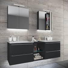 vcm doppel waschplatz waschtisch waschbecken unterschrank badinos xl 3 tlg doppel waschplatz waschtisch badinos farbe b 155cm
