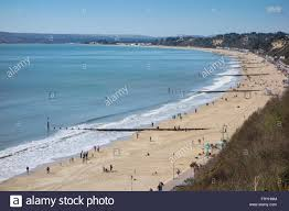 100 Canford Cliffs West Beach And Poole Bay With And Sandbanks In The