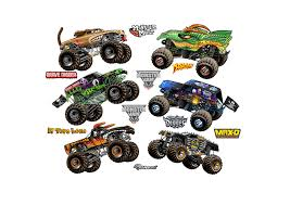 Monster Jam: Cartoon Trucks Collection - Large Officially Licensed ...