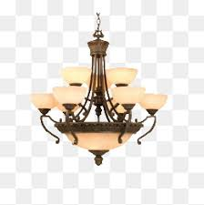 Chandelier Gorgeous Continental Simple PNG Image And Clipart