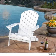 Shop Hanlee Outdoor Folding Wood Adirondack Chair By Christopher ... Adirondack Chair Outdoor Fniture Wood Pnic Garden Beach Christopher Knight Home 296698 Denise Austin Milan Brown Al Poly Foldrecling 12 Most Desired Chairs In 2018 Grass Ottoman Folding With Pullout Foot Rest Fsc Combo Dfohome Ridgeline Solid Reviews Joss Main Acacia Patio By Walker Edison Dark Wooden W Cup Outer Banks Grain Ingrated Footrest Build Using Veritas Plans Youtube