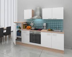 respekta küchenzeile mit e geräten breite 270 cm otto