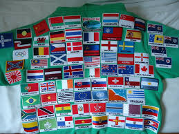 Collecting Iron On Flag Country Patches Travel Collectables