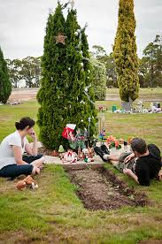 As Sad It Is To Think That We Have Decorate Noahs Grave This Year Its Nice Know He Has His Own Christmas Tree