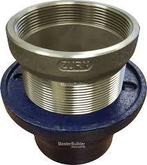 Zurn Floor Sink Covers by Zurn Zn211 S P Hub Drain Nickel Bronze U2013 Masterbuilder Mercantile Inc