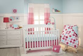Amazon Com 4 Piece Baby by Amazon Com Little Bedding By Nojo 3 Piece Crib Set Tickled Pink