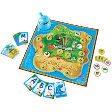Buy Alphabet Island A Letter Sounds Game By Learning Resources
