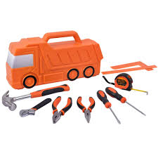100 Truck Tools Tactix Kids 10Piece Tool Kit Walmartcom