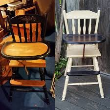 Antique High Chair Has Been Breathed New Life! #crookedoar ...