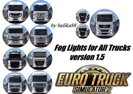 FOG LIGHTS FOR ALL TRUCKS V1.5 ETS 2 -Euro Truck Simulator 2 Mods 3 Inch Round 12w Led Fog Light Tractor 6000k Spot Xuanba 6 70w Cree Led Work For Atv Truck Boat Amazoncom Chevy Silverado 99 02 Tahoe Suburban 00 05 0405 Ford Ranger Pickup Set Of Lights Everydayautopartscom Driver And Passenger Lamps Replacement For 18w Car Styling Driving Fog Light Lamp Offroad Car Pickup Morimoto Xb Ram Vertical Winnipeg Hid Front Bumper Spot Lamp Nissan Navara D40 01 03 04 06 Toyota Tundra Universal 70mm Fogs Complete Housings From The