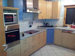 haka küche küchenzeile u form eckspüle ohne geräte mit