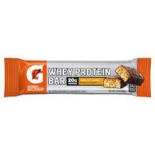Gatorade Recover Whey Protein Bar Chocolate Caramel 28 Oz