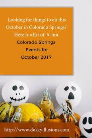 Pumpkin Patch In Colorado Springs Co 2013 by 6 Colorado Springs Events For October 2017 Bri K U0027s Dusky Illusions