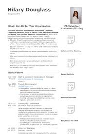 Sample High School Resume Template Download Cover Letter Examples Volunteer Work