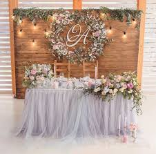 Decorating Vintage Rustic Wedding Table Decoration