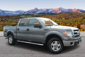 Pre-Owned 2014 Ford F-150 XLT Crew Cab Pickup In Colorado Springs ...
