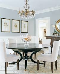 20 Blue Gray Dining Room Painted Table Round