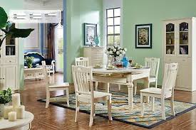 klassische kolonial antik stil ess garnitur tisch 6 stühle esszimmer stuhl neu