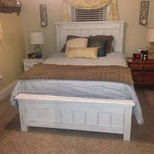 Ana White Farmhouse Headboard by Ana White Queen Size Farmhouse Bed With Storage Diy Projects