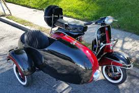 Vintage Vespa Sidecar For Sale