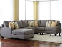 grey sectionals with chaise chamberly alloy 4 piece modular