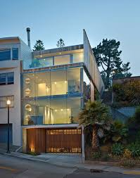 100 Three Storey Houses Glass Tower House In San Francisco