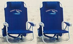 amazon com 2 tommy bahama backpack cooler chair with storage