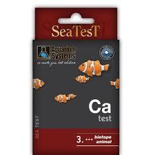 aquarium systems seatest ca test calcium eau de mer trousse d
