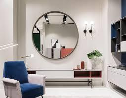 wandmontierter spiegel loop capo d opera home modern