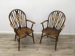 1 2 armlehn stuhl englisch antik barock deco